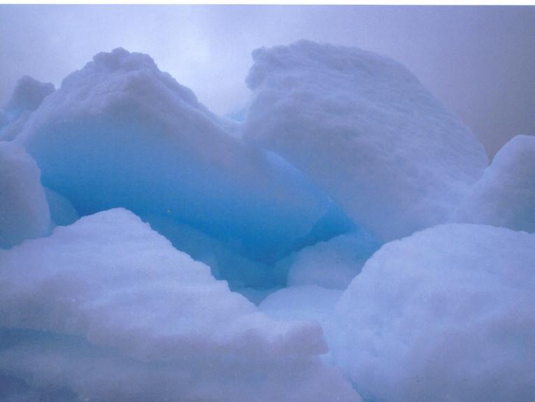 Bizarrer Eisberg (Foto: Frank Blache)